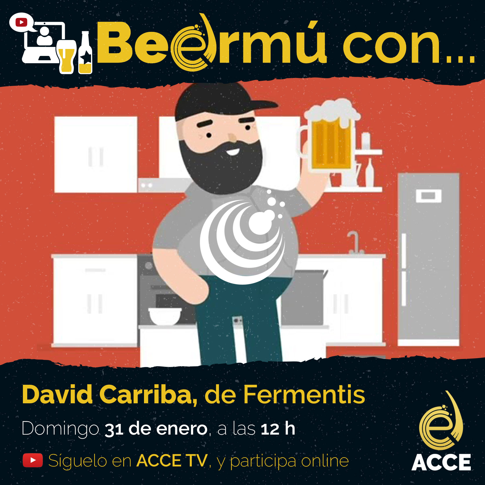 Beermú con… David Carriba, de Fermentis